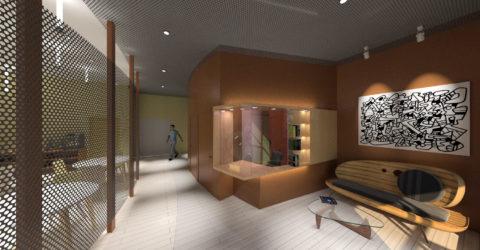 Réaménagement d'un hall Vitry Sur Seine
